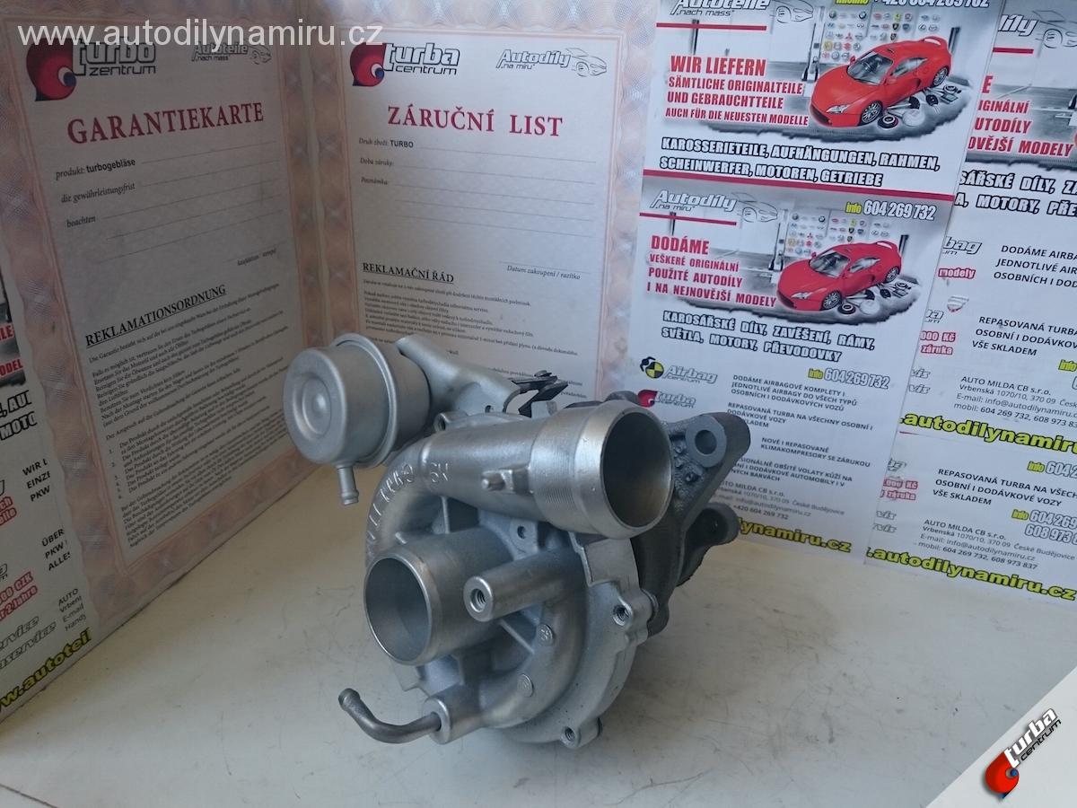 Turbo Peugeot Partner 2.0HDI