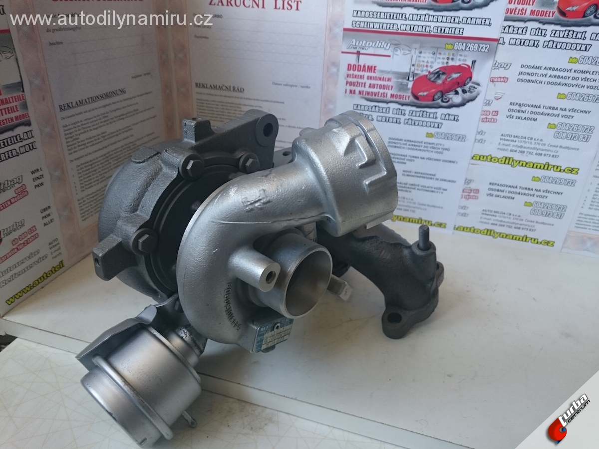 Turbo VW Passat B6 2.0TDi