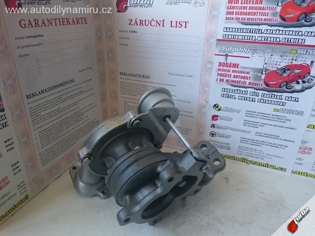 Turbo Ford Fusion 1.4Tdci