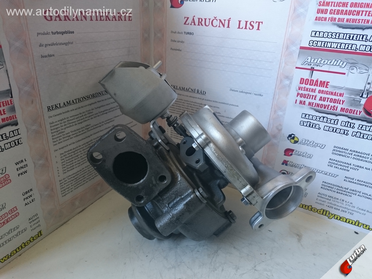 Turbo Citroen Berlingo 1.6HDi FAP