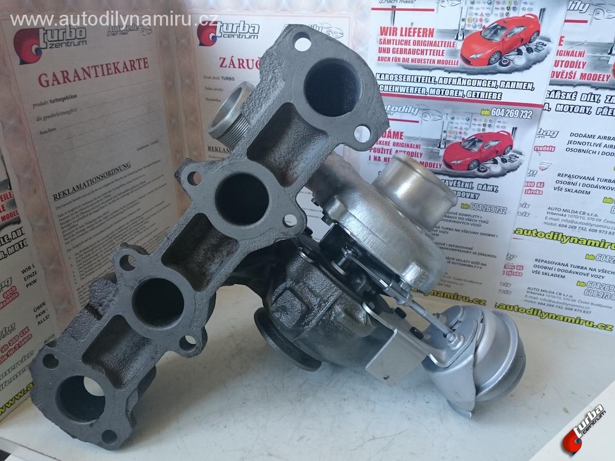 Turbo Opel Zafira B 1.9CDTi