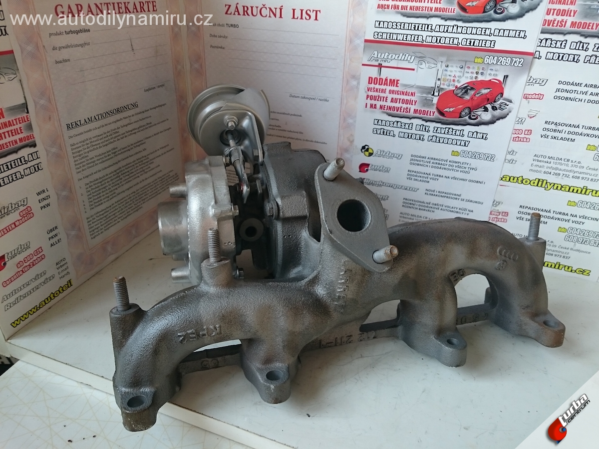 Turbo VW Sharan I 1.9tdi 85kw
