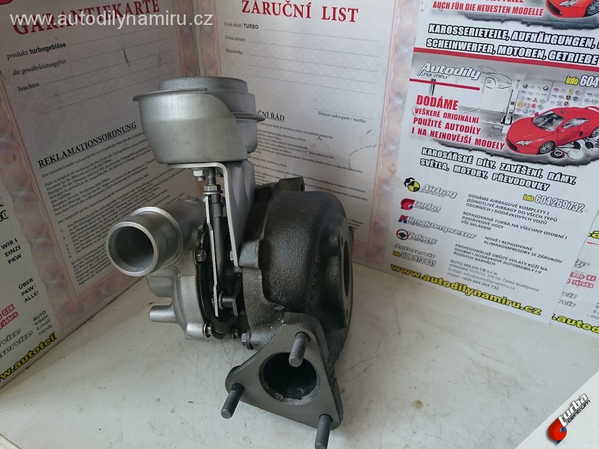 Turbo Ford Galaxy 1.9 TDI 81kw