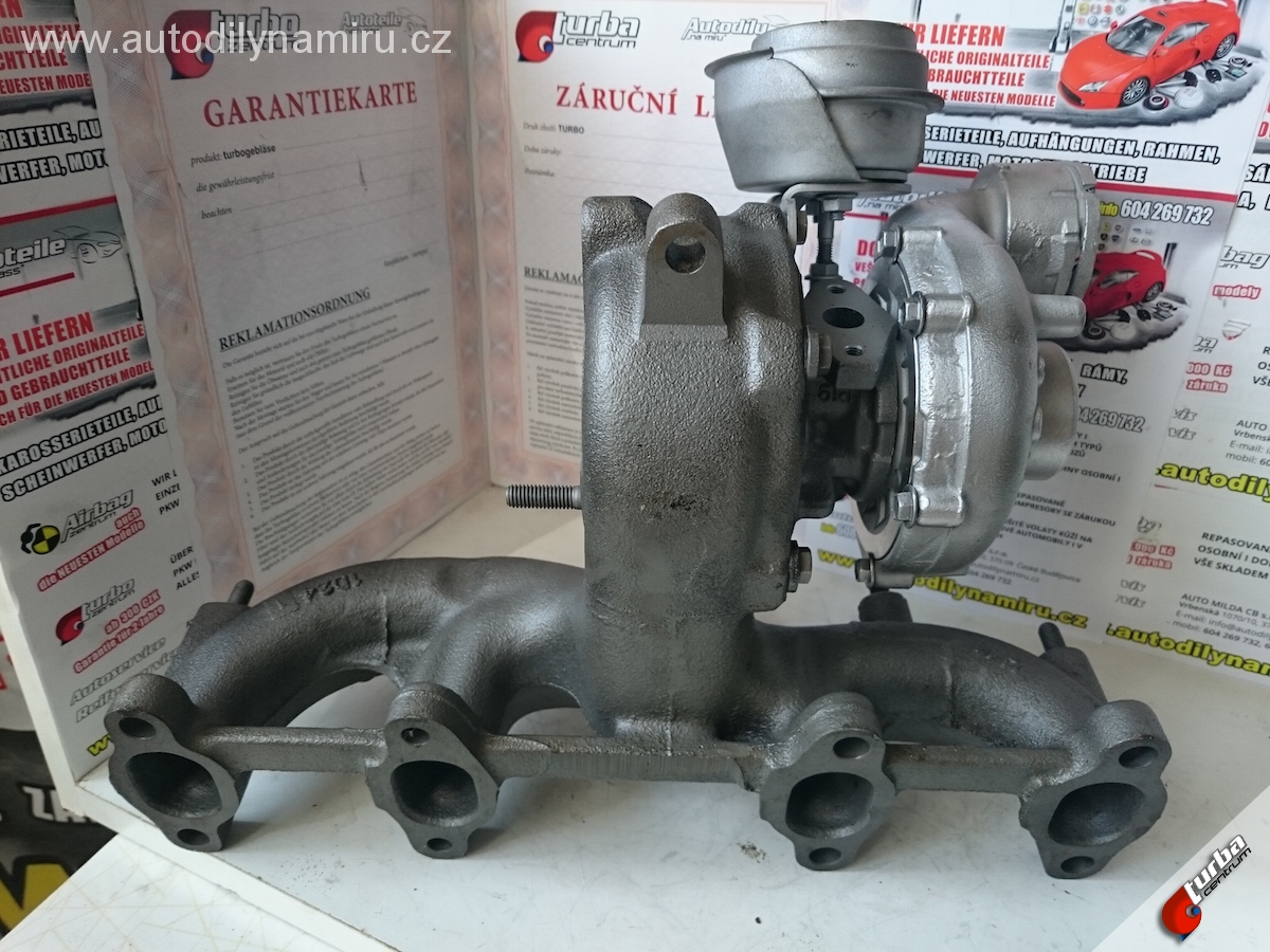 Turbo VW Bora 1.9tdi 96kw