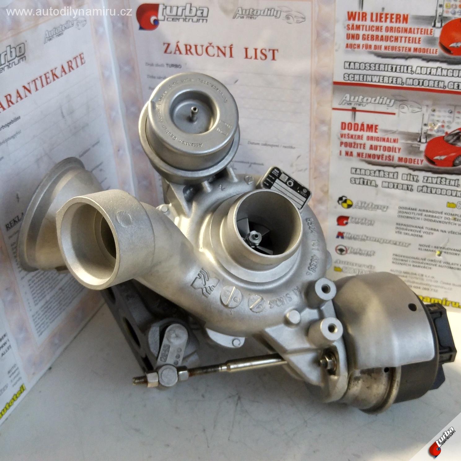 Turbo VW Amarok 122kw