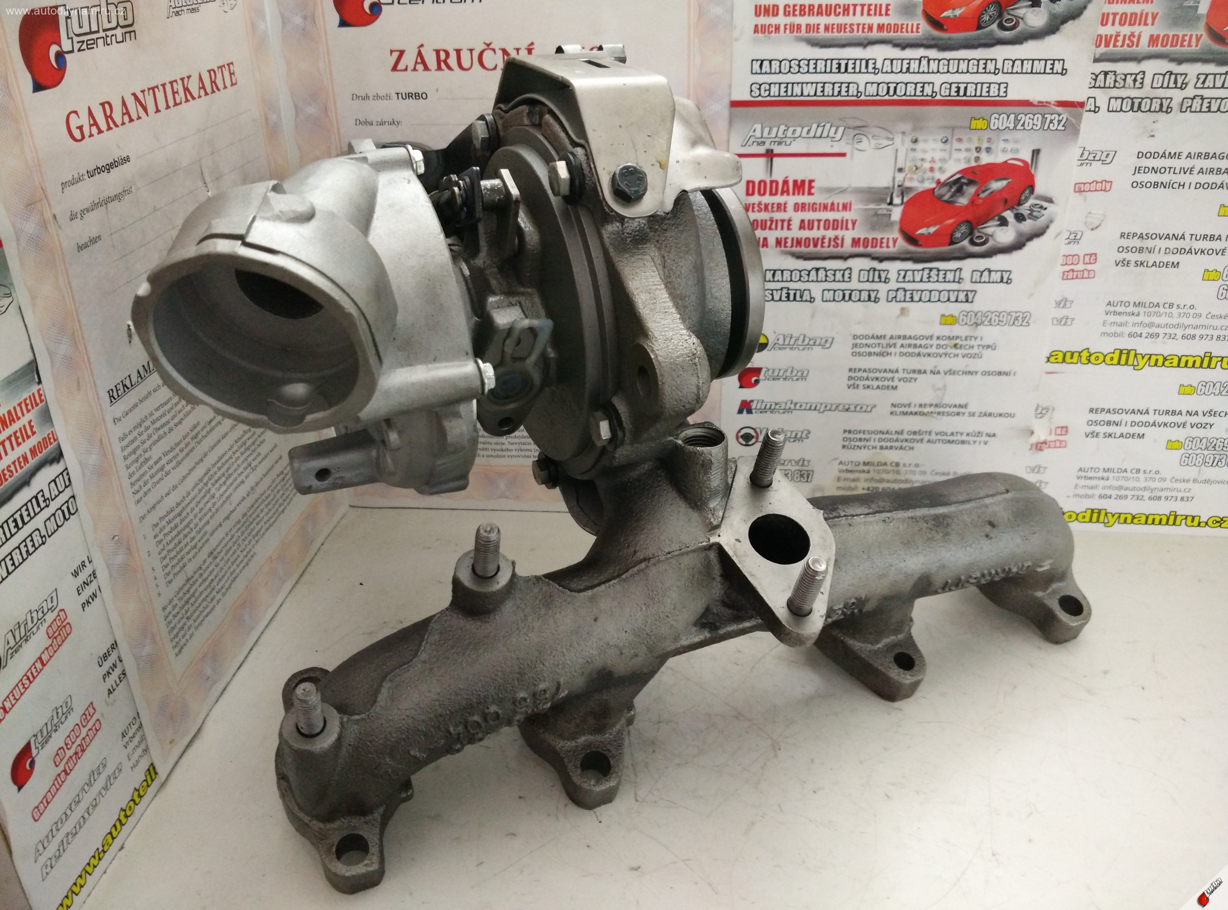 Turbo VW Golf V 1.9tdi 77kw