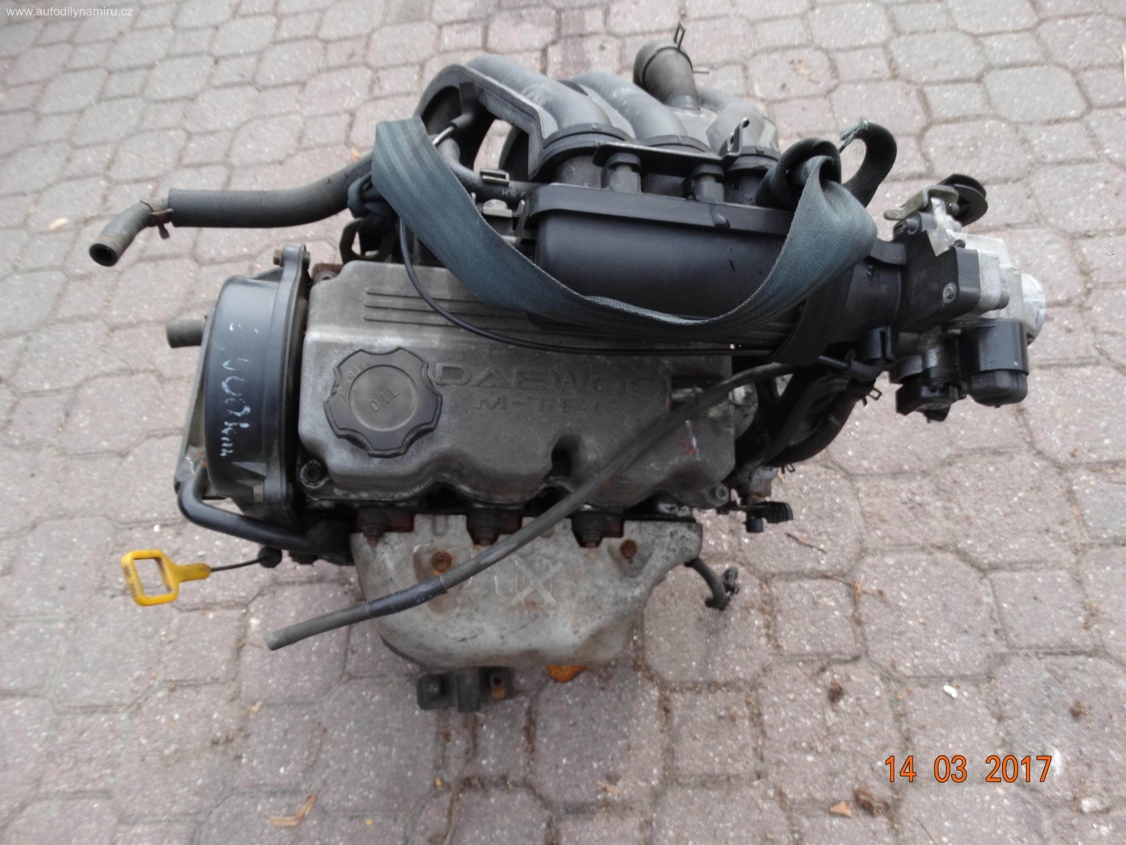 Motor Daewoo Matiz 0.8mpi