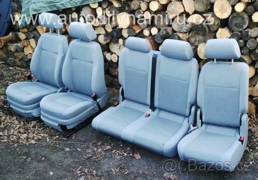 Sedačky do VW Caddy