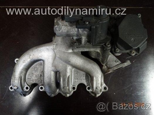 VW Saci potrubi, klapka BLS 03G128063A, 03G129713K