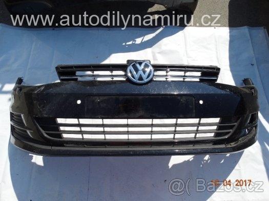 VW Golf VII přední nárazník včetně masky