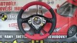 Volant VW Golf IV červeno-černý